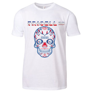 "TRICELL 215 - "" SIXERS SKULL GANG"" SHIRT"