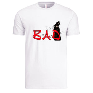 "TRICELL 215-"" WHO'S BAD ""T SHIRT"