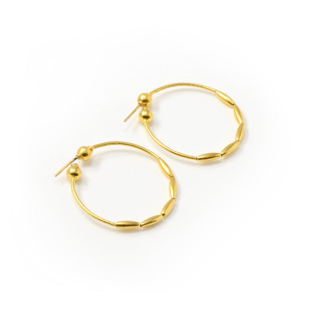 GURHAN Spring Hoop Earrings