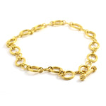 San Remo Gold Link Necklace