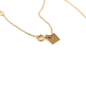 Milky Way Open Star Necklace