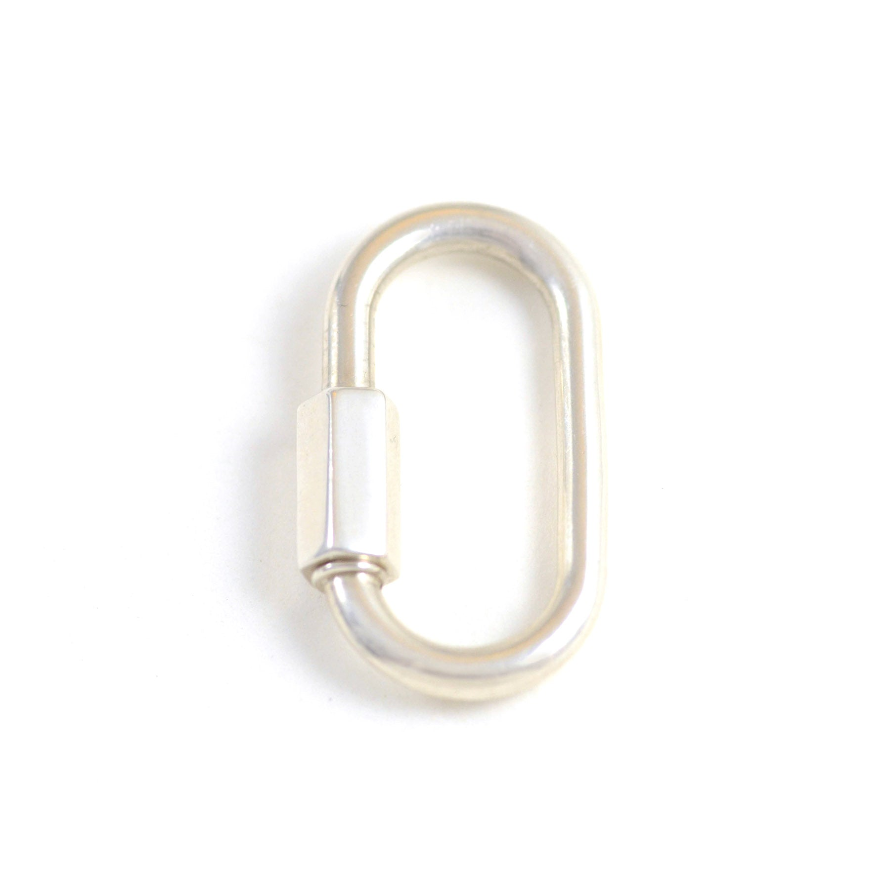 Regular Lock in Sterling Silver