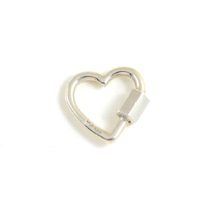 Heartlock in Sterling Silver