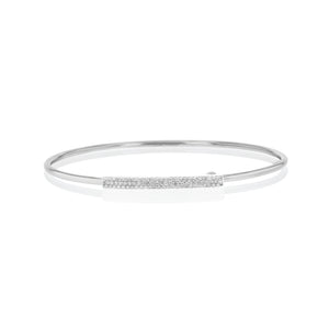 Phillips house white gold diamond affair strap bracelet.