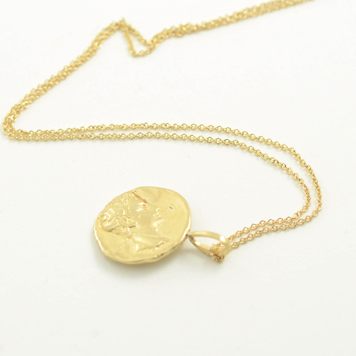 Robin Haley antiquities collection kindred spirits necklace in 14kt yellow gold