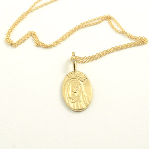 Robin Haley antiquities collection Mary Necklace in 14kt yellow gold