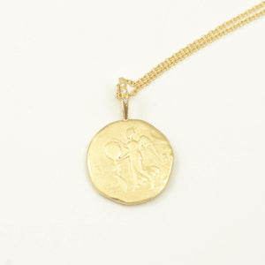 Robin Haley artifact collection The Woman necklace in 14kt yellow gold