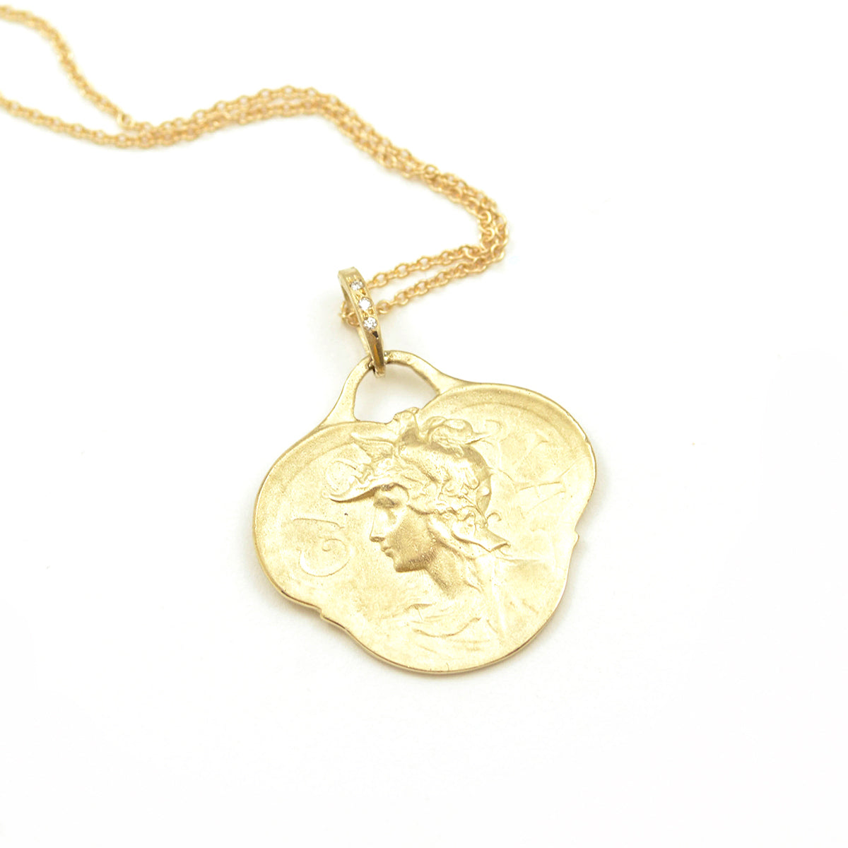 Hermes Pendant Necklace