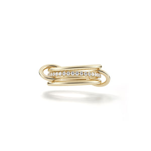 Spinelli Kilcollin Ring Sonny 18 karat Yellow Gold Diamonds