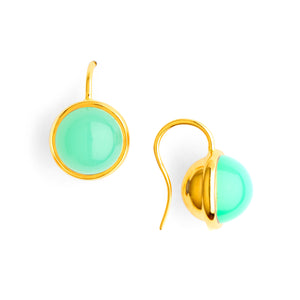Baubles Chrysoprase Earrings