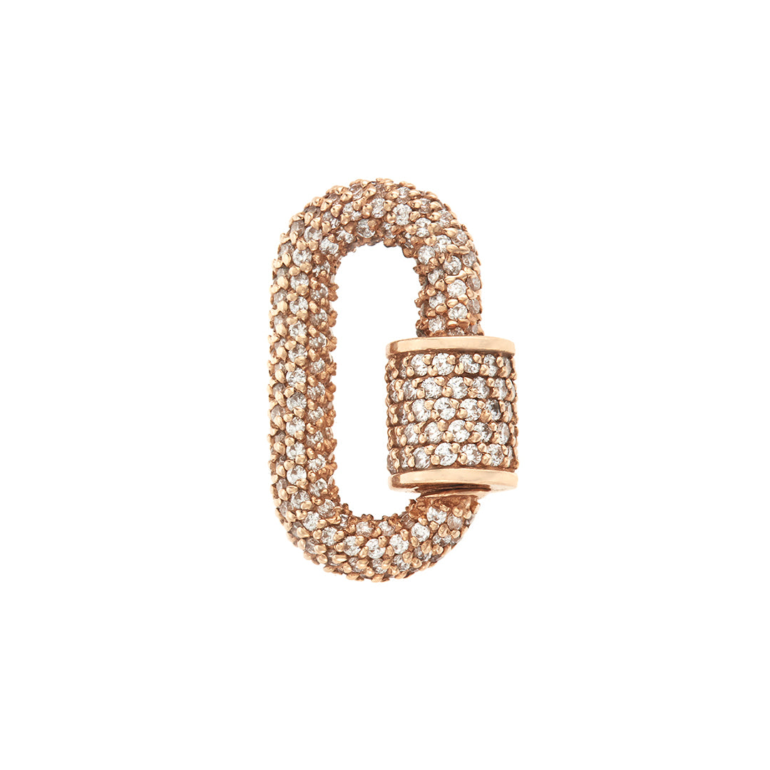 marla Aaron all stoned chubby babylock in yellow gold