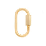 marla Aaron 14kt yellow gold regular lock