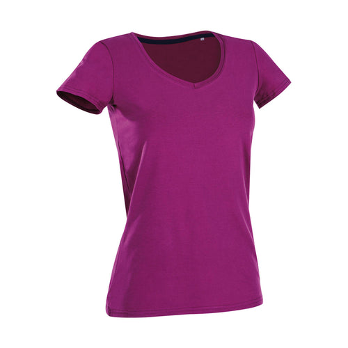 T-shirt collo a V donna - Fol The Brand Business