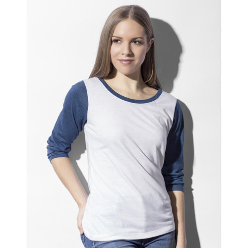 T-shirt Base-Ball Donna maniche lunghe - Fol The Brand Business