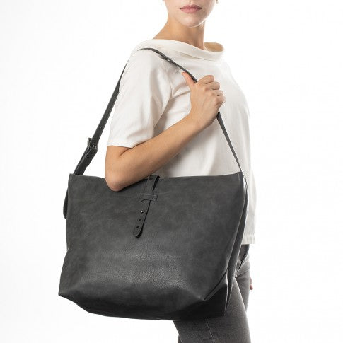 The Ethicool Collection - Tote Grigio - 1068