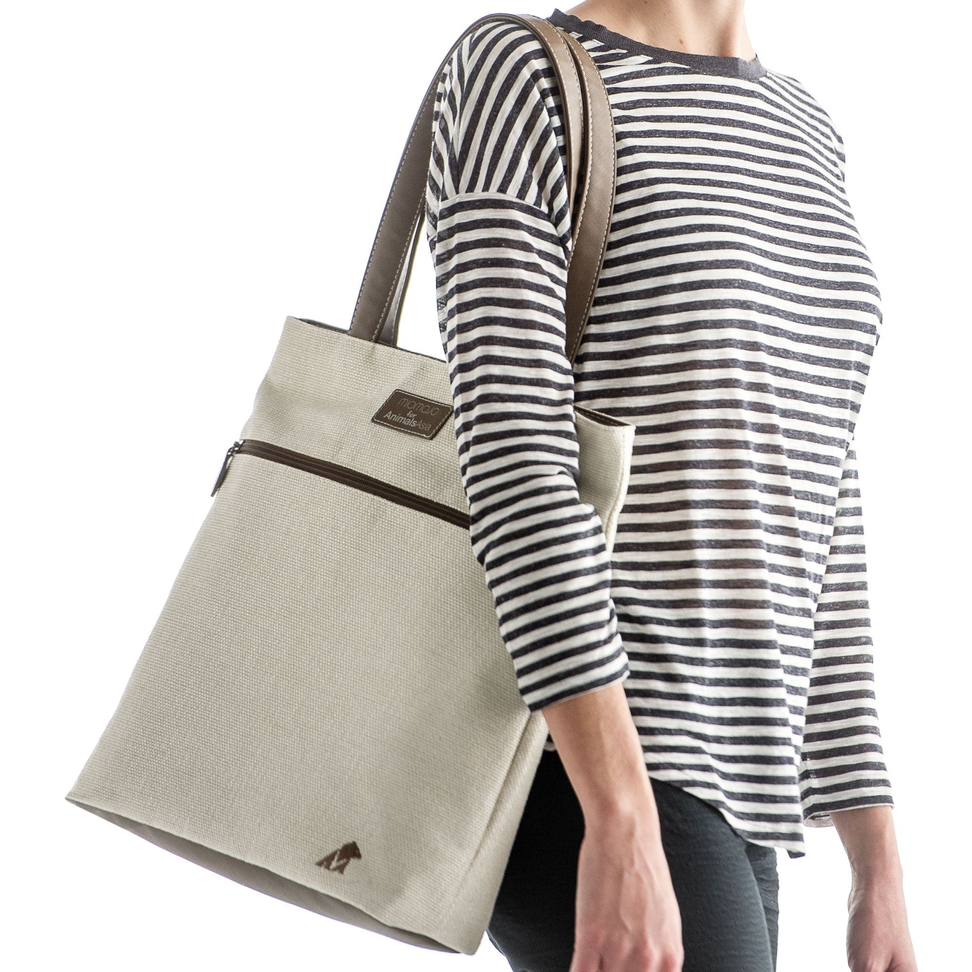 Limited Edition - Animal Asia - Shopper Beige 1039W