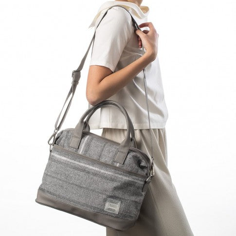 The Essential Collection - City Bag Riga Grigia ES1027S