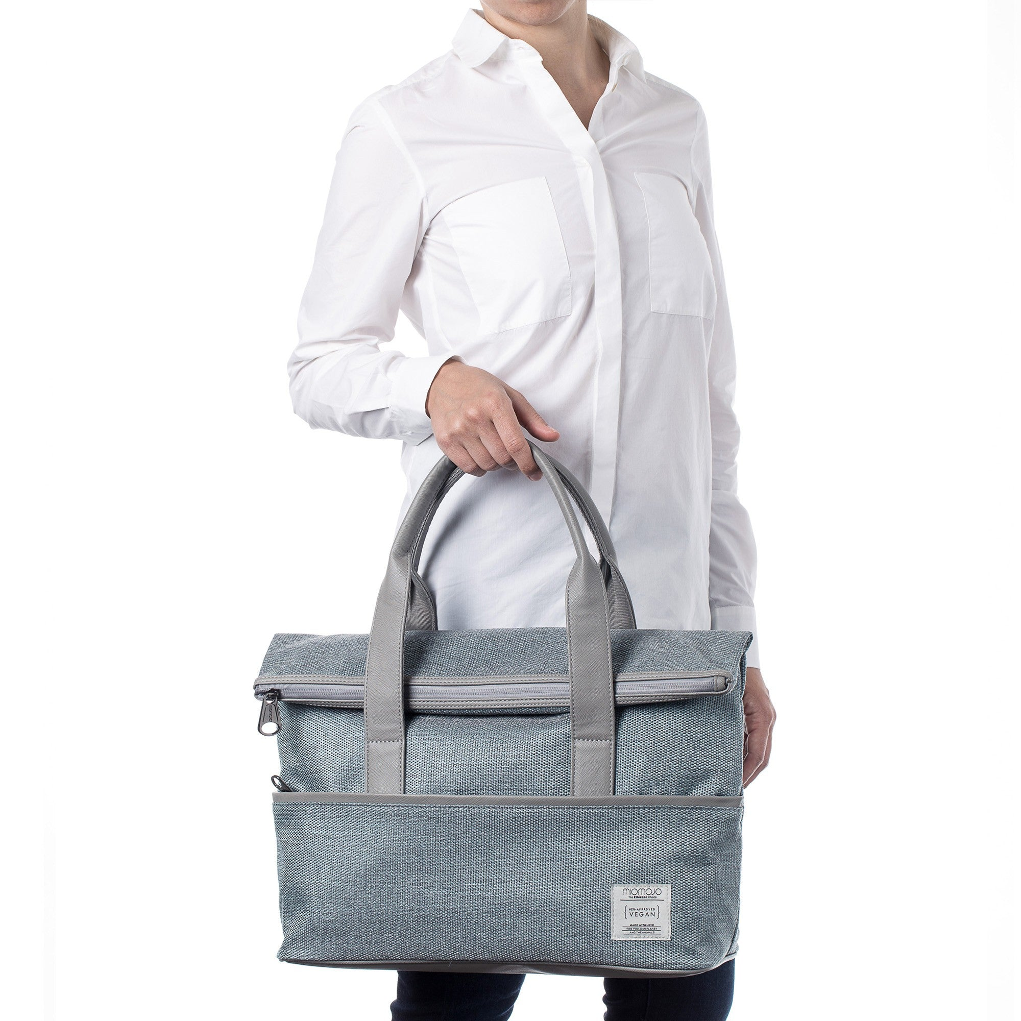 The Essential Collection - Daily Tote Azzurro ES107O