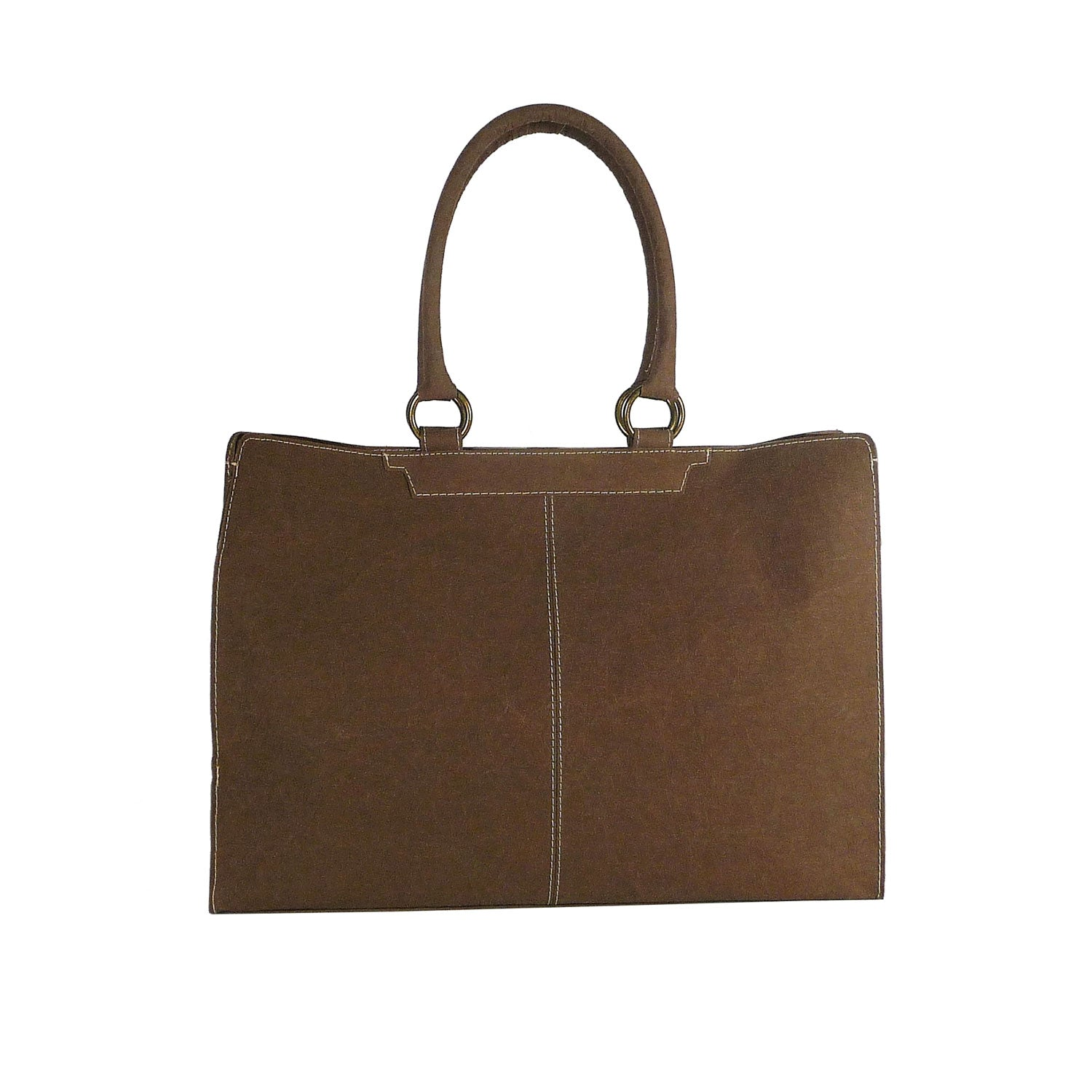 Borsa Shopping Carta marrone