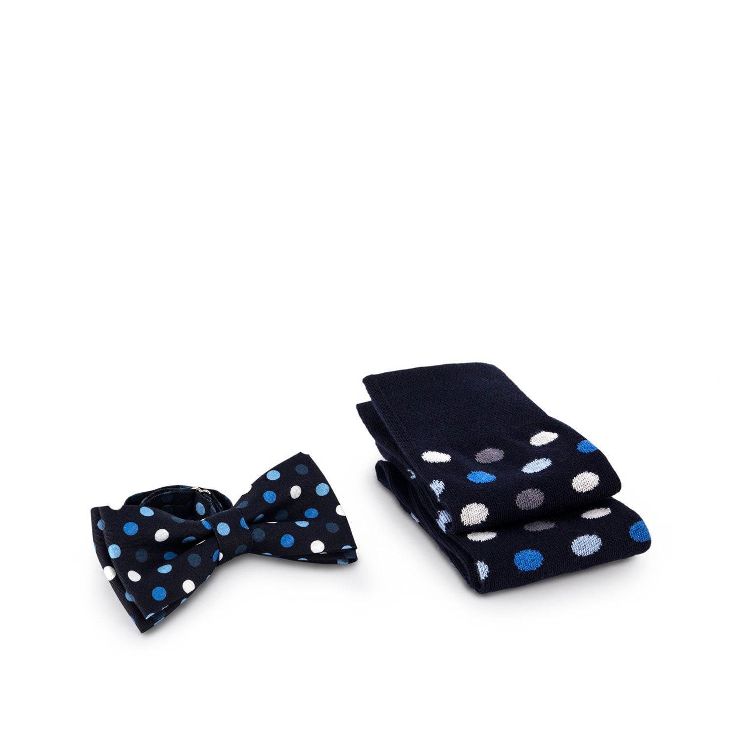 Socks and Bow Tie - frozen dots