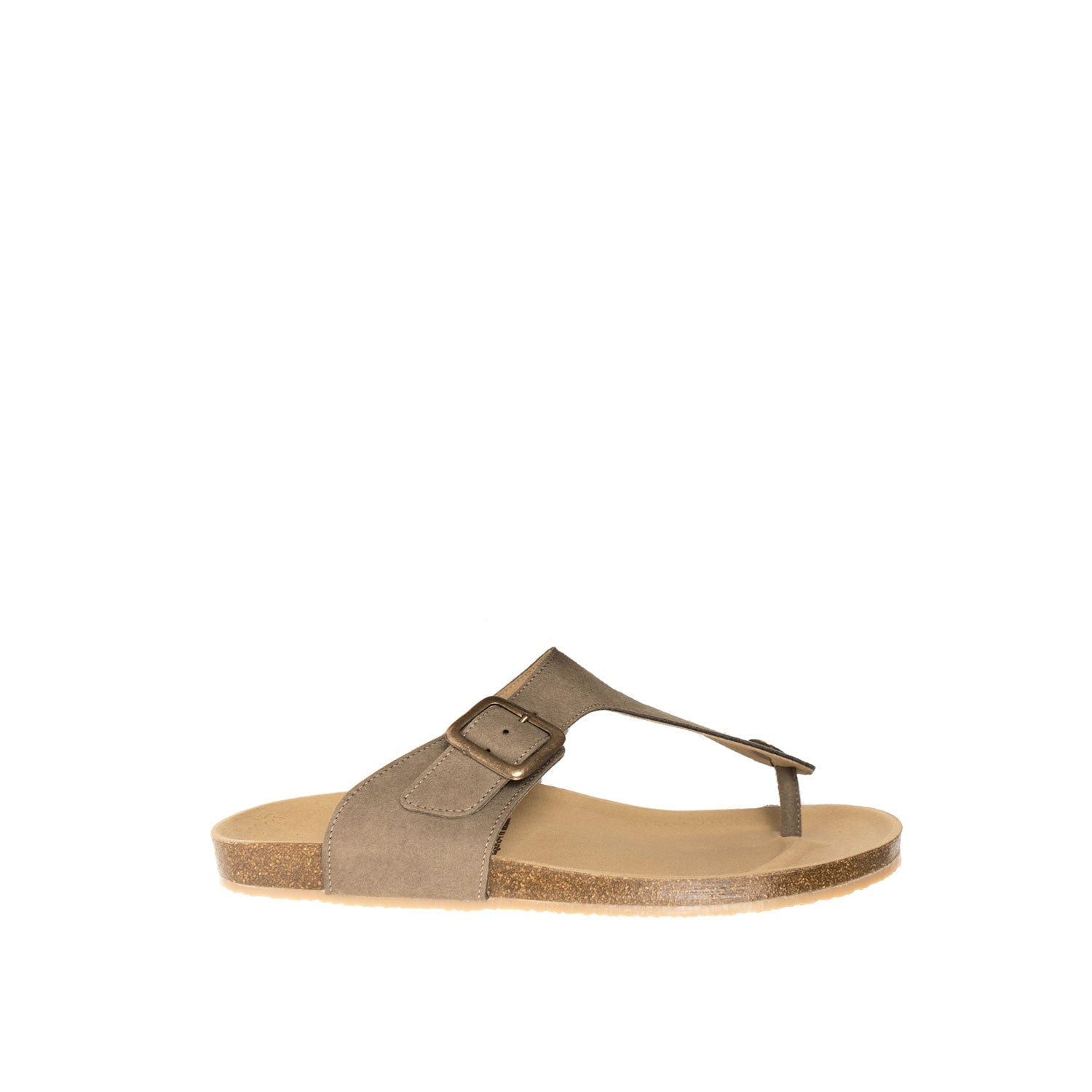 Toe Peg Footbed Sandals