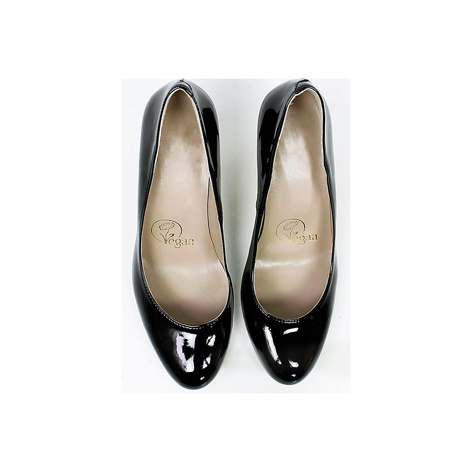 City Courts patent black