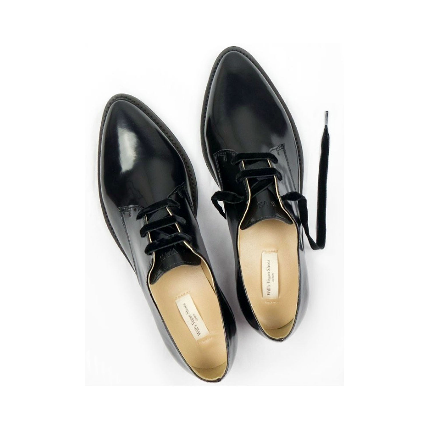 Luxe Derbys Black