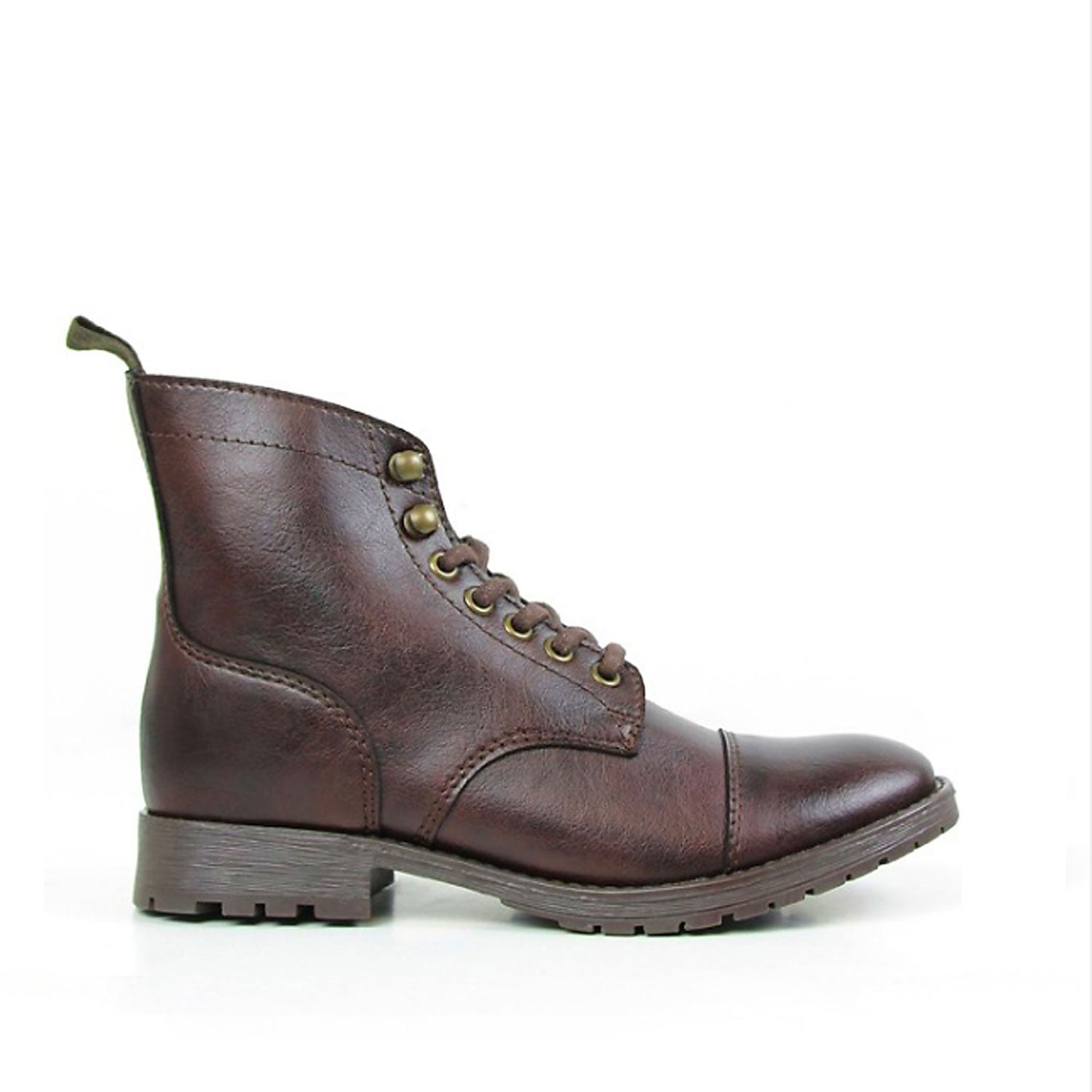 Work Boot Dark Brown