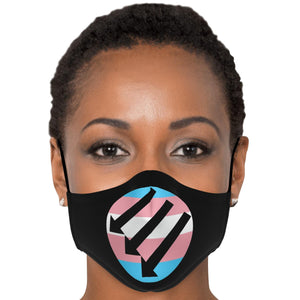 TRANS- ANTIFA MASK