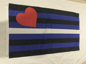Leather Pride flag 3' x 5'
