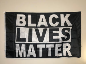 Black Lives Matter flag 3' x 5'