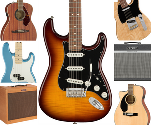 New Fender Products Just Arrived!