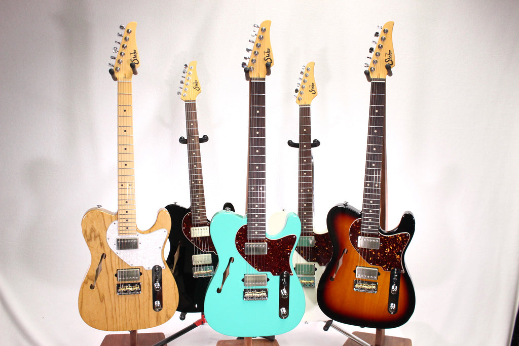 Suhr Alt T - The Alternative to Ordinary in 5 Stunning Finishes