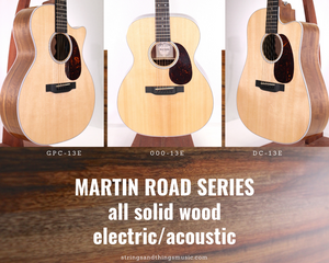 The updated 2019 Martin Road Series models are in!