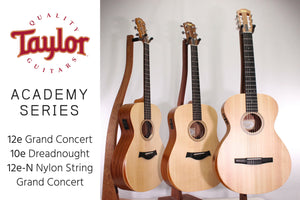 Taylor's Academy Series makes advanced guitar design affordable!