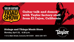 Taylor Road Show at Strings & Things Music - April 23, 2018