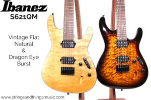 Ibanez S621 Quilted Maple Double-Humbucker Models