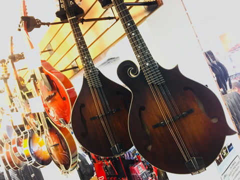 Eastman mandolins feat. MD315 F-Style & MD305 A-Style models
