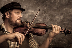 Jordan Tirrell-Wysocki fiddle instructor at Strings & Things Music in Concord, NH