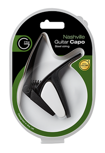 G7th Nashville Steel String Guitar Capo - Black
