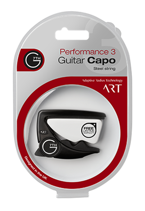 G7th Performance 3 ART Capo - Steel String Satin Black