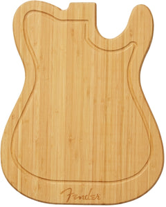 Fender Telecaster Bamboo Cutting Board