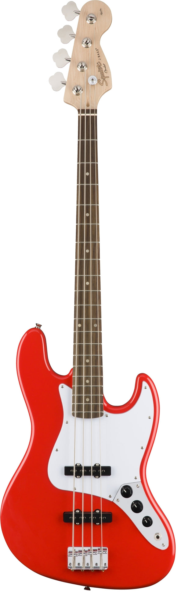 Squier Affinity Jazz Bass - Race Red