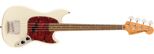 SQUIER CLASSIC VIBE '60S MUSTANG® BASS OLYMPIC WHITE