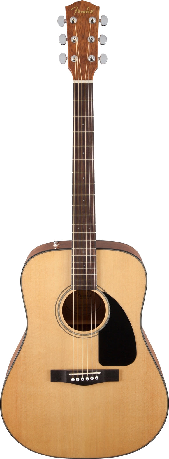 Fender CD-60 Dreadnought V3 Acoustic Guitar w/ Case - Natural