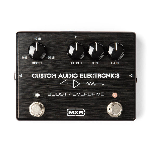 MXR Custom Audio Electronics Boost/Overdrive MC402