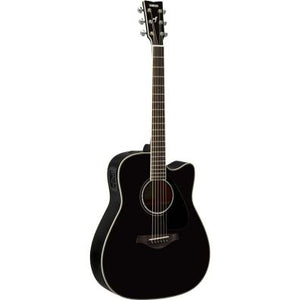 Yamaha FGX830C Acoustic/Electric Guitar w/ Cutaway - Black