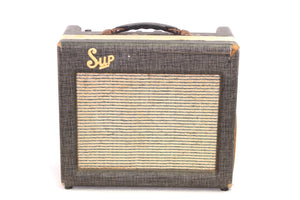 1961 Supro 1616T Used Amp Front