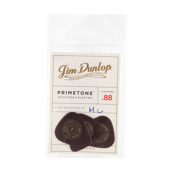 Dunlop Primetone Standard Smooth Picks .88mm 3-Pack
