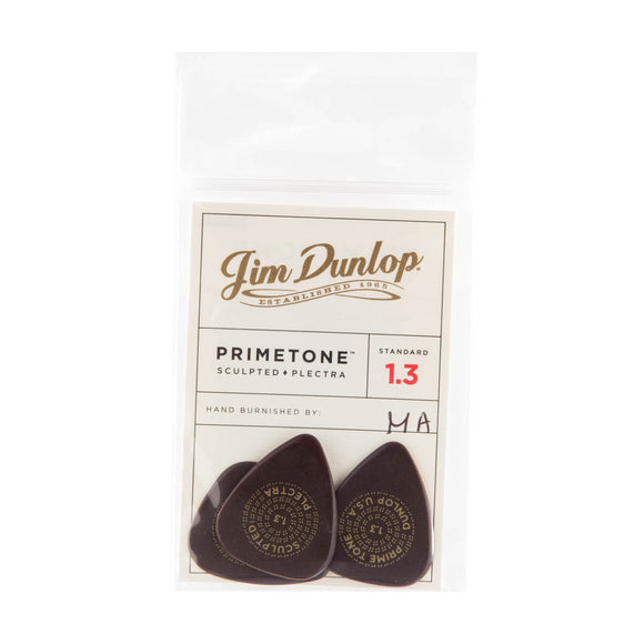 Dunlop Primetone Standard Smooth Picks 1.3mm 3-Pack